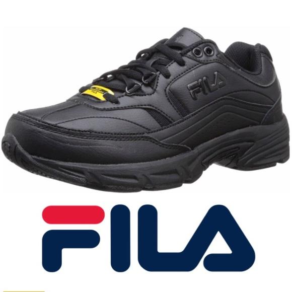 Fila Women's Memory Slip Resistant Work Shoe